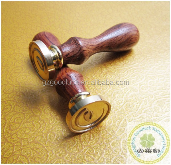 Wax Seals Set for Envelopes Wedding Invitations Brass handle wax seal stamps