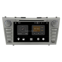 2 Din Android 7.1 2GB RAM head unit car audio gps navigation BT video , for toyota camry dvd player%
