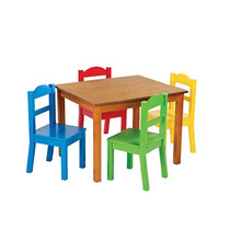 Custom Made classroom cheap childrens study table and chair set on sale