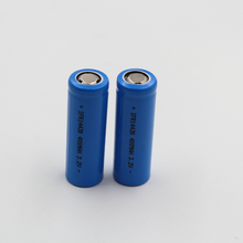 Cylindrical Rechargeable Lifepo4 Battery IFR14430 400Mah 3.2V Lithium Cell