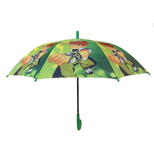 19'' 8K kids rain umbrella printed cartoon pictures