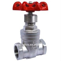 Stainless Steel Screwed Gate ball valve