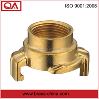 heavy-duty brass quick connector hydraulic hose quick coupling for watering system