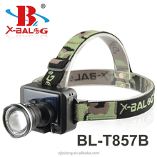 BL-T857B Solar cell rechargeable headlight