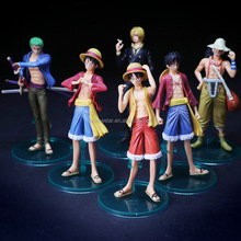 Japan Hot Cartoon One Piece Luffy And Zerro Character Anime PVC Figure Set