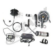 Electric Mountain Bicycle Hub Motor Retrofit Kit Disc Brakes