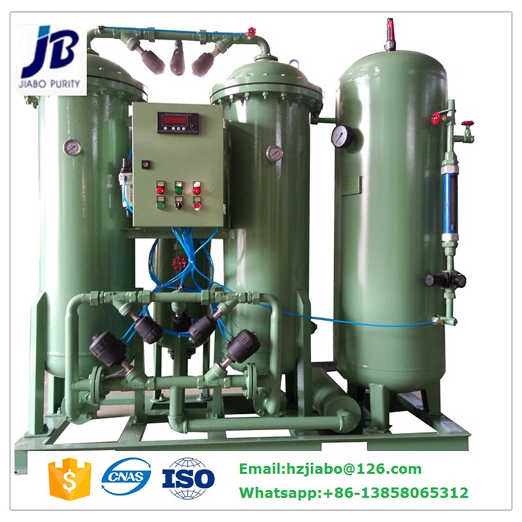 Oxygen Usage and New Condition Oxygen Plant Setup