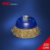 High performance HCS brass wire brush, industrial wire brush
