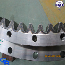 turntable bearing for railway cranes,swing gear,rotation gear teeth