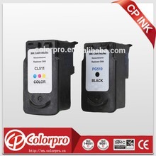 Wholesale for canon ink cartridge 510 511 compatible inkjet cartridge