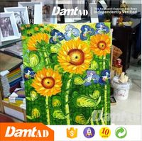 china supplier online shopping printing canvas print sunflower oil