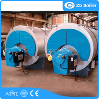 ASME standard boiler manufacture petcoke calorific value of oil gas steam boiler