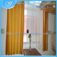 Foldable Polyester& Cotton New Design Train Woven Window Curtain