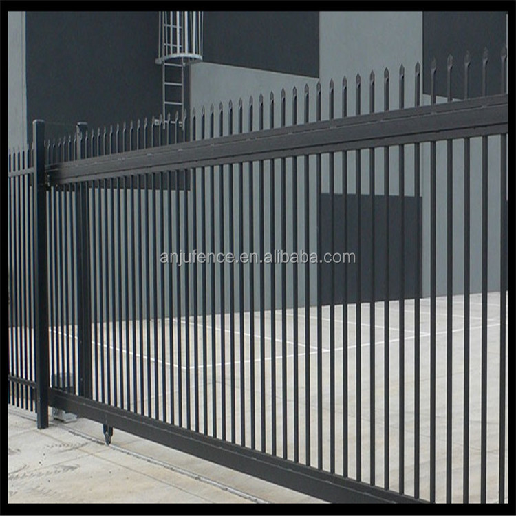 DK035 Car parking lot Wrought iron tubular fence from China factory
