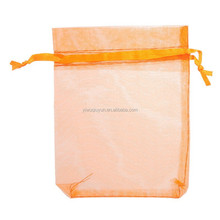 In Stock Mixed Color Wedding Favour Jewelry Cosmetic Goodies Bag For Gift Chocolate Organza Bag