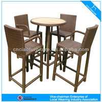 High Quality Rattan Bar Furniture