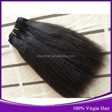 Virgin Remy Brazilian Yaki Pony Hair Braiding Hair Braids