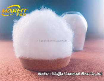 1.5D/2D/2.5D/3D Virgin Superfine Eiderdown-like psf hcs Polyester Staple Fiber