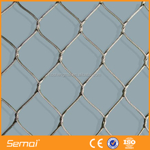 Low Price Decorative Flexible Stainless Steel Wire Rope Mesh