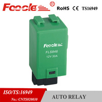 china factory auto parts france 12v 30a pride 3 pin car flasher relay