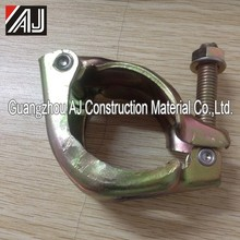 Guangzhou pressed steel scaffolding single half swivel coupler