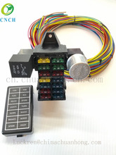 Heavy truck fuse box wiring harness