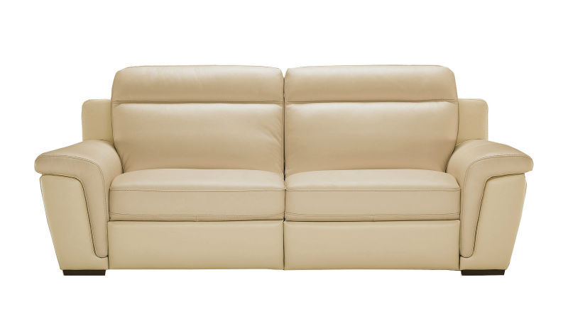 white fabric upholstery love seat sofa bed SF1061