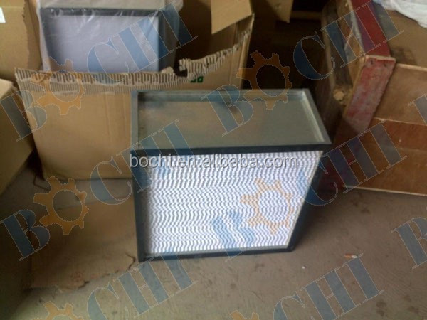 Aluminu Alloy Hepa Efficiency Universal Air Filter Foam