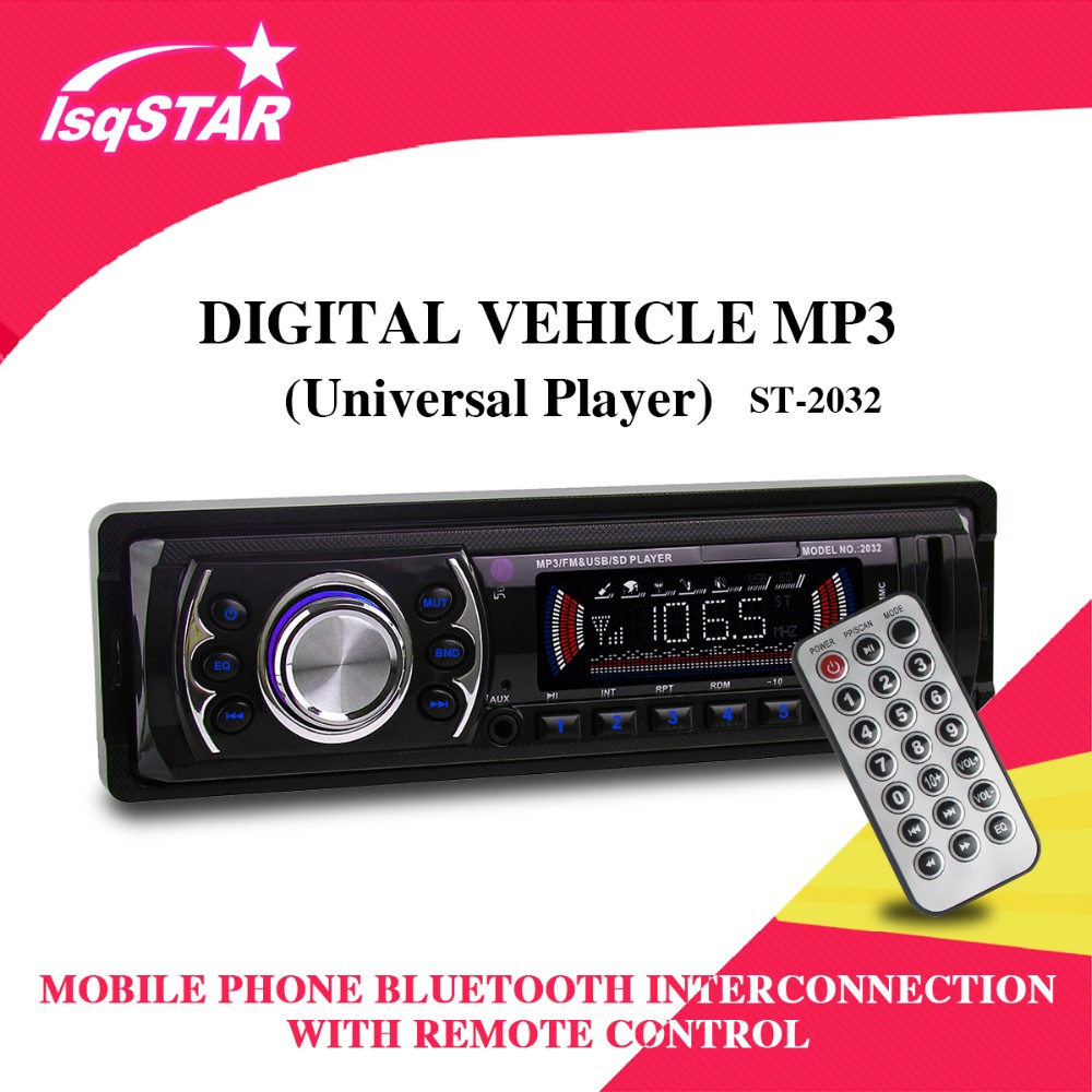 LSQ manufacture Car Stereo/ MP3/ Radio/ player with USB/SD/AUX