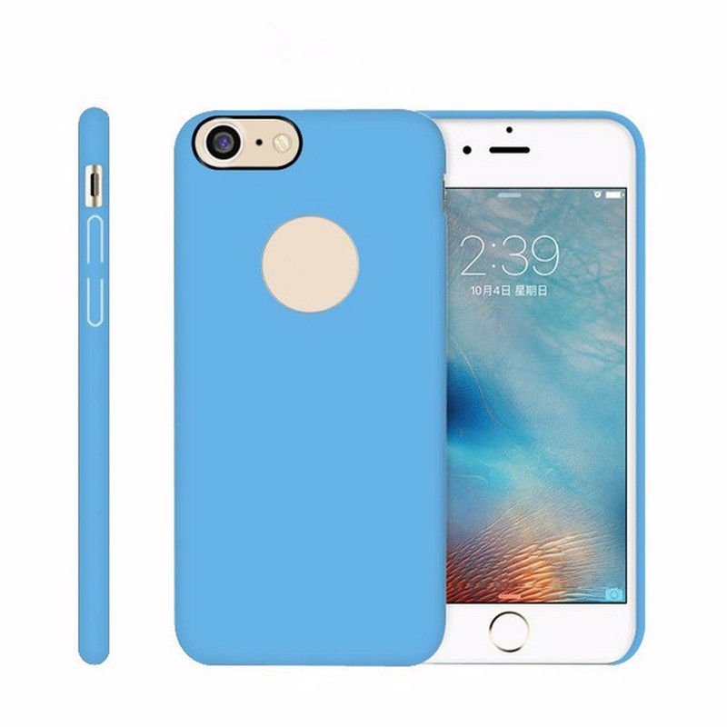 High-end Soft Smoothly Silicone Rubber Mobile Phone Case For Iphone 7