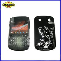 New Arrival Butterfly Design Hard Case Back Cover for Blackberry Bold 9900,TPU Case