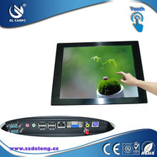 10 inch LCD Advertising Multi Media All In One Fanless Computer Touchscreen Panel PC Touchscreen MINI Computer Desktop