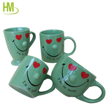 Heat Transfer Cute Cup Of Coffe Ceramic