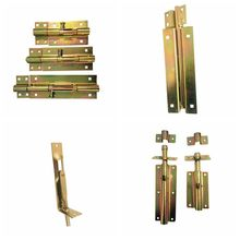 ISO9001 Zinc Alloy Door Bolt For Safety Decoration