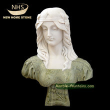 exquisite home decoration greek lady marble busts