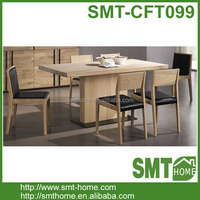 High Quality Modern Wood MDF Dining Table And Chairs Set