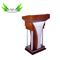 Wholesale melamine board lectern with paper cover