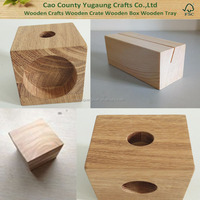 Shangdong Customized Wooden Cubes Cheap Wooden