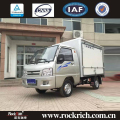 Pure electricity fuel 4x2 1.5T small cargo truck