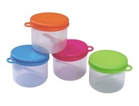 Plastic Canister Set with Spoon