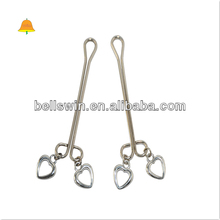 Stainless Steel Metal Massage Appeal tease Women Vagina Clit Clamp Sex Tool