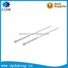 Dakong high precision plastic injection lathing DLC processed Hasco standard ejector blades parts