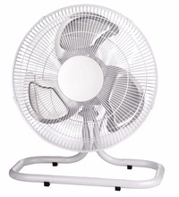 Metal floor fan with powerful full copper motor and 3-metal blade