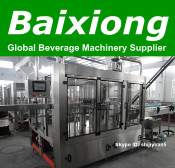 We supply full automatic complete price of water bottling line (Hot sale)
