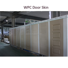 China Supplier PVC/WPC Moulded Door Skin with 2MM Thickness for Construction Show Room Door