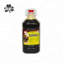 Pure hand-fermented soybean mini china lily sugar free soy sauce bottles 4L without additives