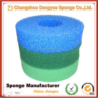 high quality colorful breathable fish tank coarse polyurethane filter foam