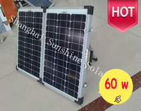 Best Selling 60w solar folding panel with price