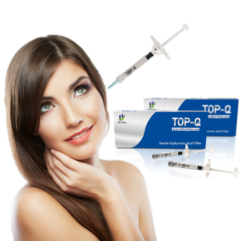 Top-<strong>Q</strong> super ultra deep line 24 mg anti-aging hyaluronic acid prefilled syringe