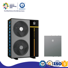 Customized metal plate 10KW 20KW -25c dc inverter used heat pumps for sale